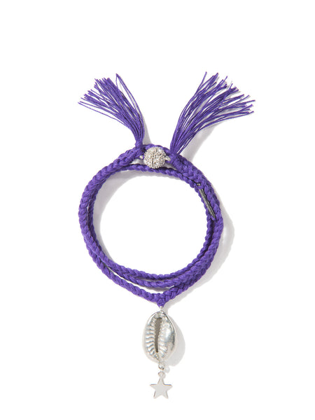 GALACTIC MERMAID BRACELET (PURPLE)