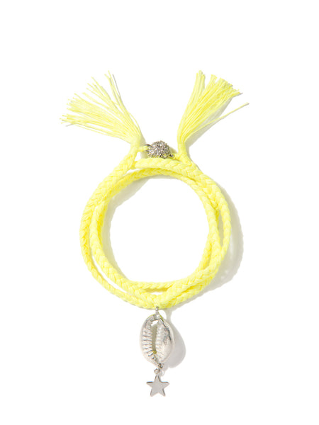 GALACTIC MERMAID BRACELET (NEON YELLOW)