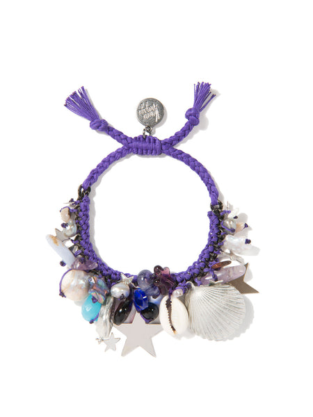 UNDERNEATH THE STARS BRACELET (PURPLE)