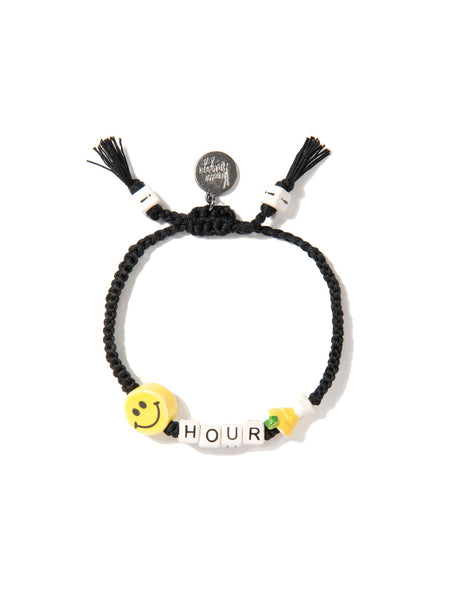 HAPPY HOUR BRACELET (BLACK)