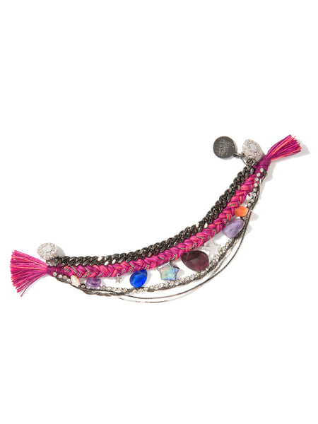 WISHING STAR BRACELET (MAGENTA)