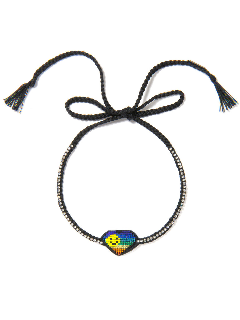 ADDICTED 2 LUV NECKLACE (RAINBOW) NECKLACE - Venessa Arizaga
