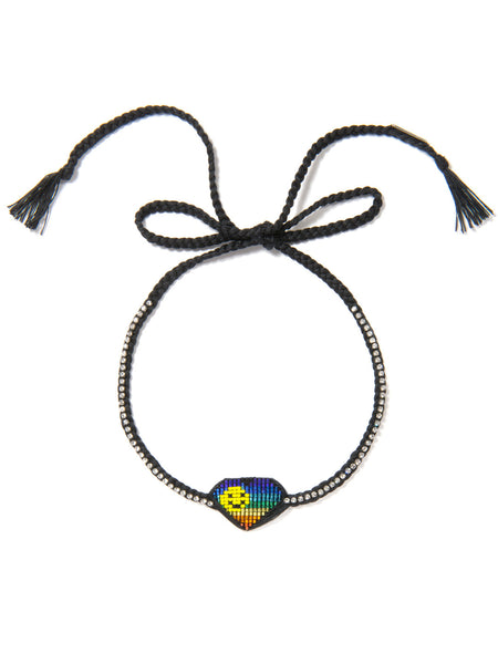 ADDICTED 2 LUV NECKLACE (RAINBOW)