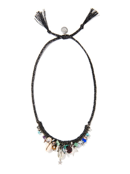 STARDUST NECKLACE (BLACK)
