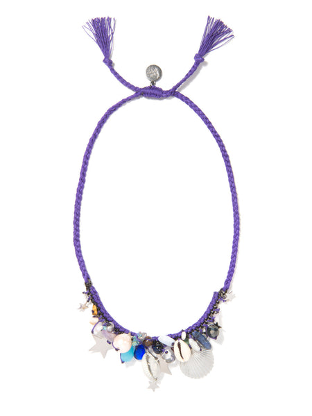 UNDERNEATH THE STARS NECKLACE (PURPLE)