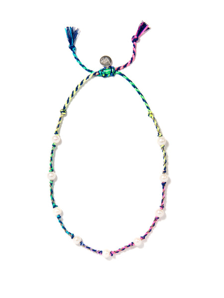 SEA OF LOVE NECKLACE (BLUE RAINBOW)