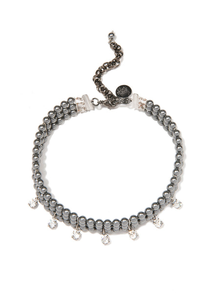 MOON DUST NECKLACE (GRAY)