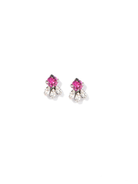 JUST LIKE HEAVEN EARRINGS (MAGENTA)