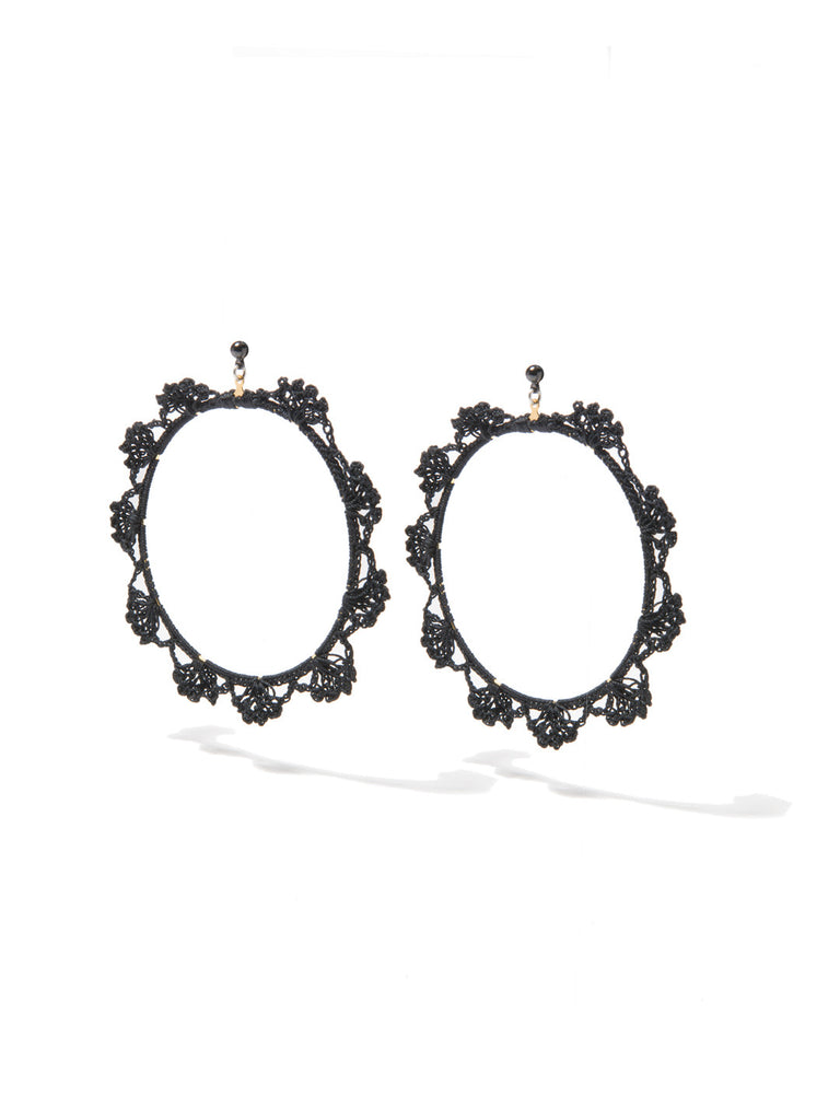 SHADES OF COOL EARRINGS (BLACK) EARRING - Venessa Arizaga