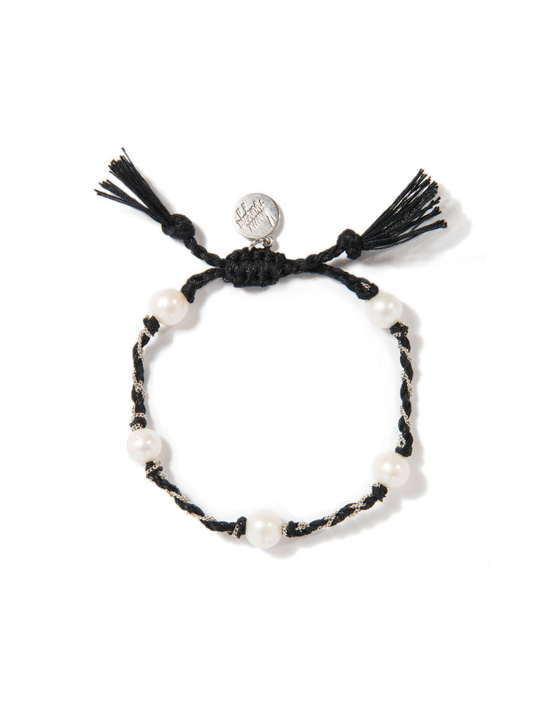 SEA OF LOVE BRACELET (BLACK) BRACELET - Venessa Arizaga