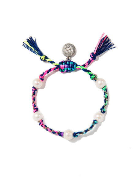 SEA OF LOVE BRACELET (BLUE RAINBOW)
