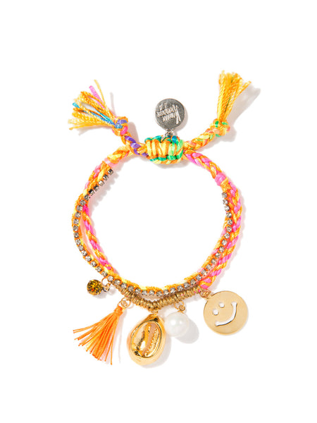 FUN AT THE BEACH BRACELET (SUNSHINE RAINBOW)