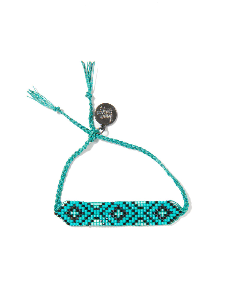 DIAMONDS ARE FOREVER (TEAL) BRACELET - Venessa Arizaga