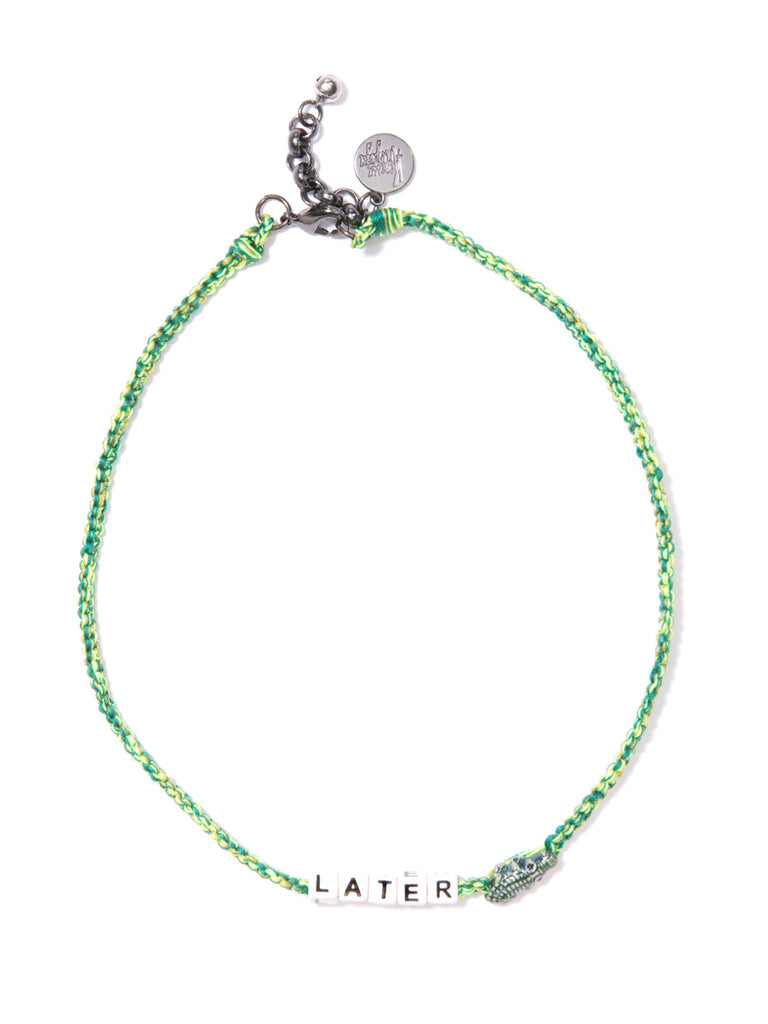 LATER GATOR NECKLACE NECKLACE - Venessa Arizaga