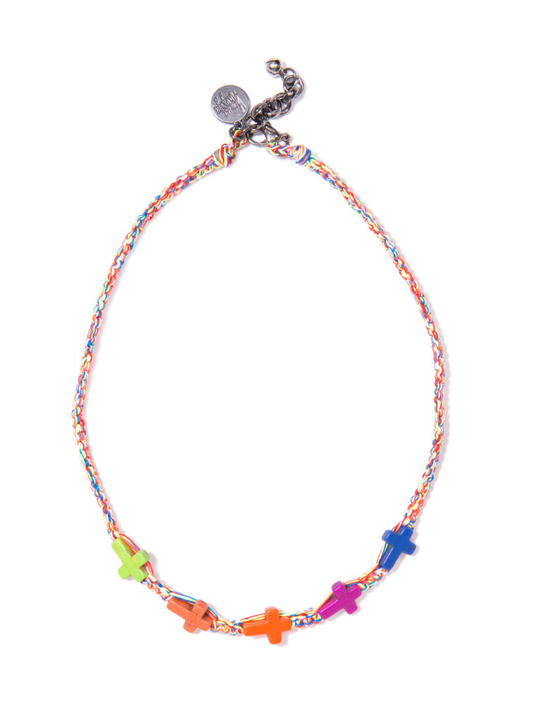 THE CROSSING NECKLACE - Venessa Arizaga