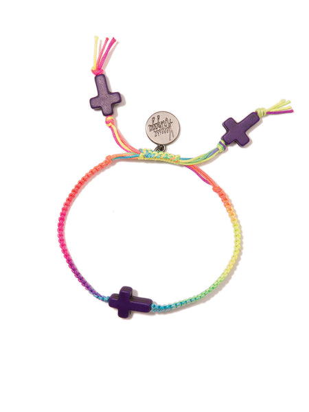 RAINBOW CROSSING BRACELET
