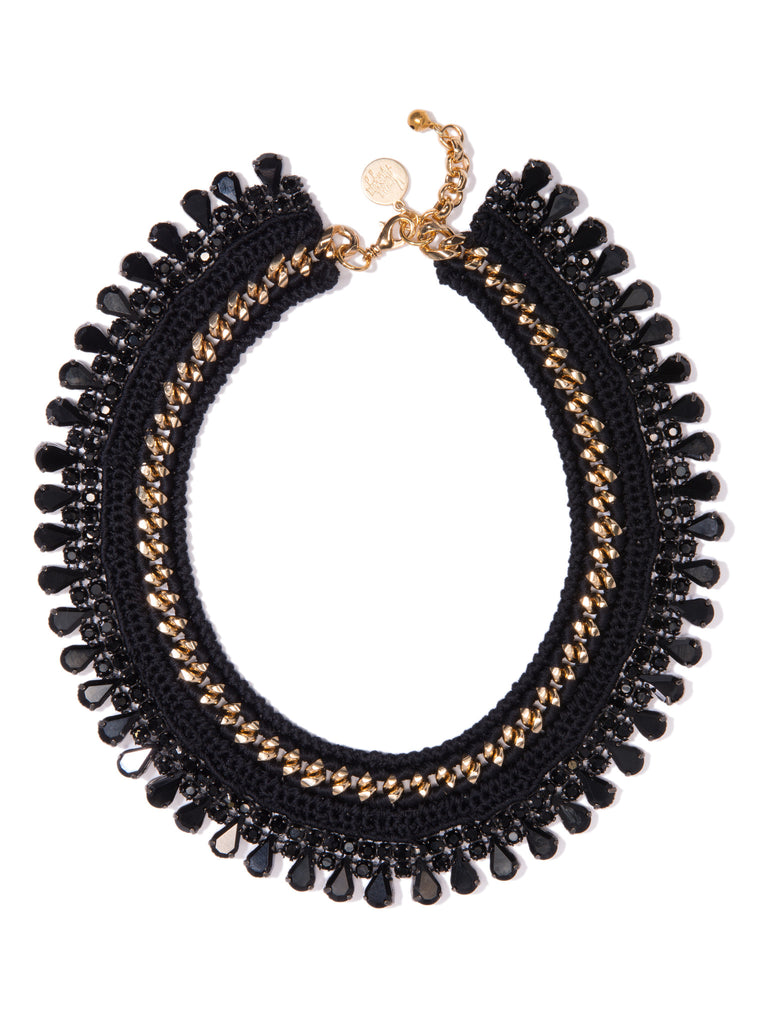 BLACK BETTY NECKLACE NECKLACE - Venessa Arizaga