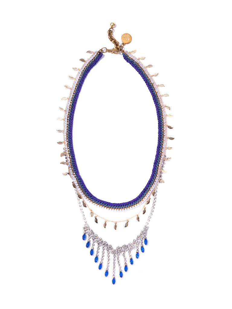 LET IT RAIN NECKLACE NECKLACE - Venessa Arizaga
