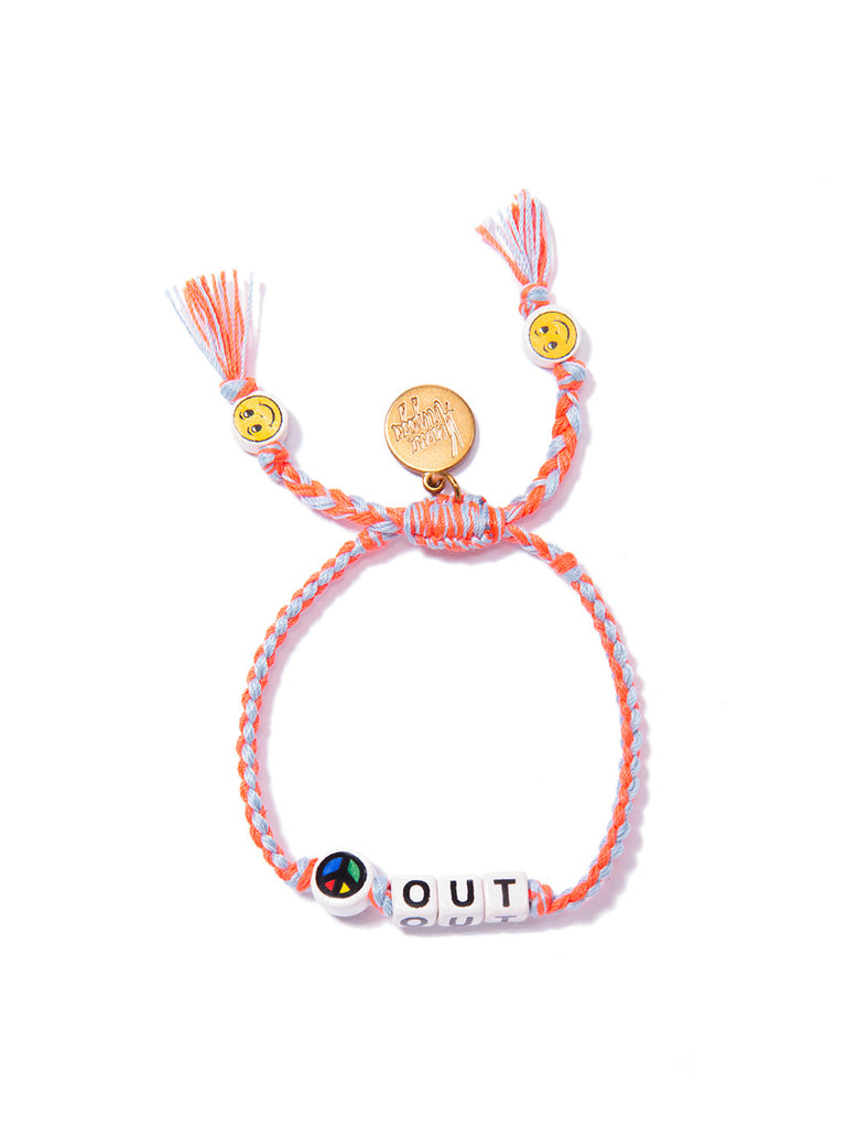 PEACE OUT BRACELET BRACELET - Venessa Arizaga