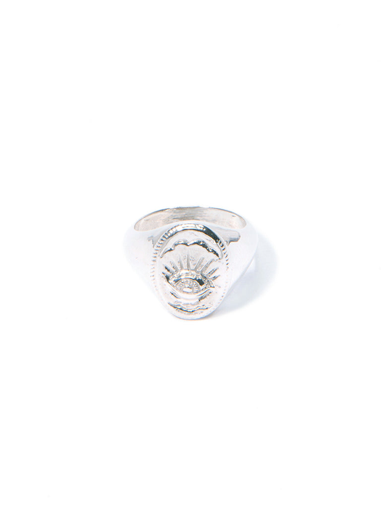 EYE IN THE SKY VARSITY RING - Venessa Arizaga