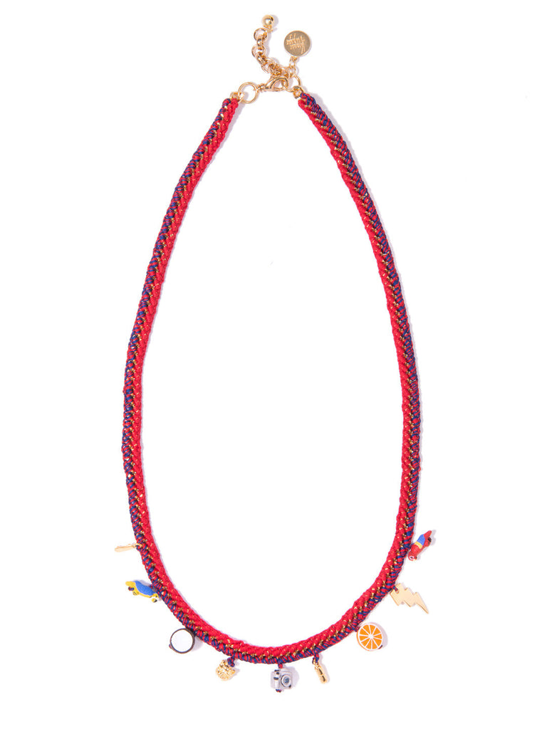 GRENADA NECKLACE (DRAGONFRUIT) NECKLACE - Venessa Arizaga