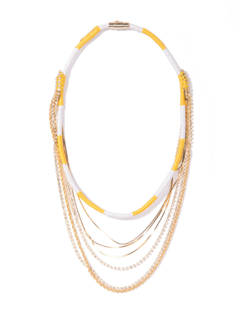 LADY OF IPANEMA NECKLACE NECKLACE - Venessa Arizaga