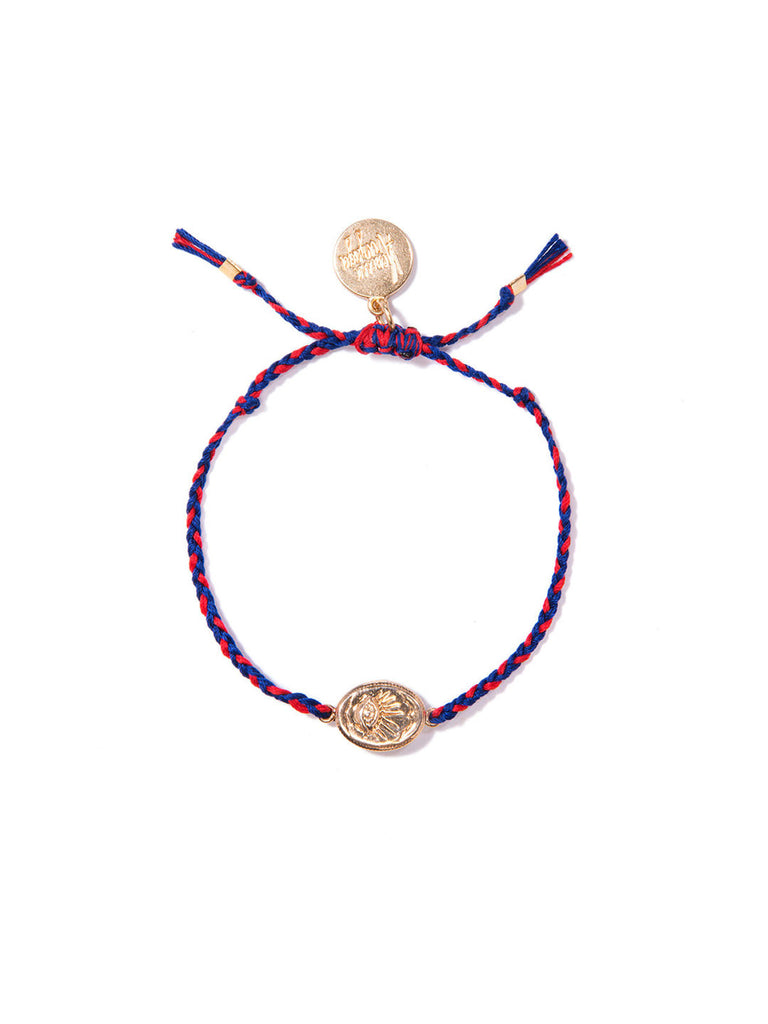 EYE IN THE SKY FRIENDSHIP BRACELET - Venessa Arizaga