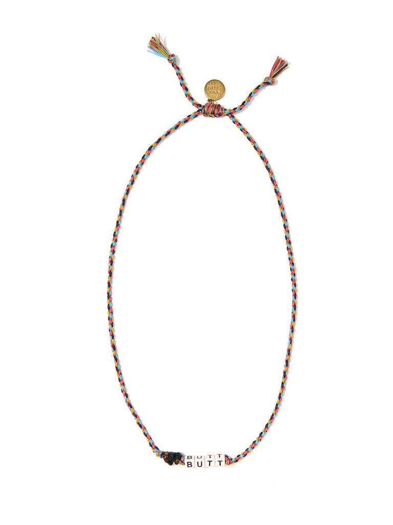 MONKEY BUTT NECKLACE NECKLACE - Venessa Arizaga