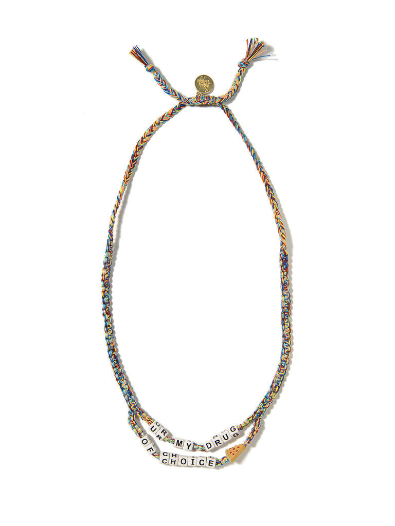 DRUG OF CHOICE NECKLACE - Venessa Arizaga