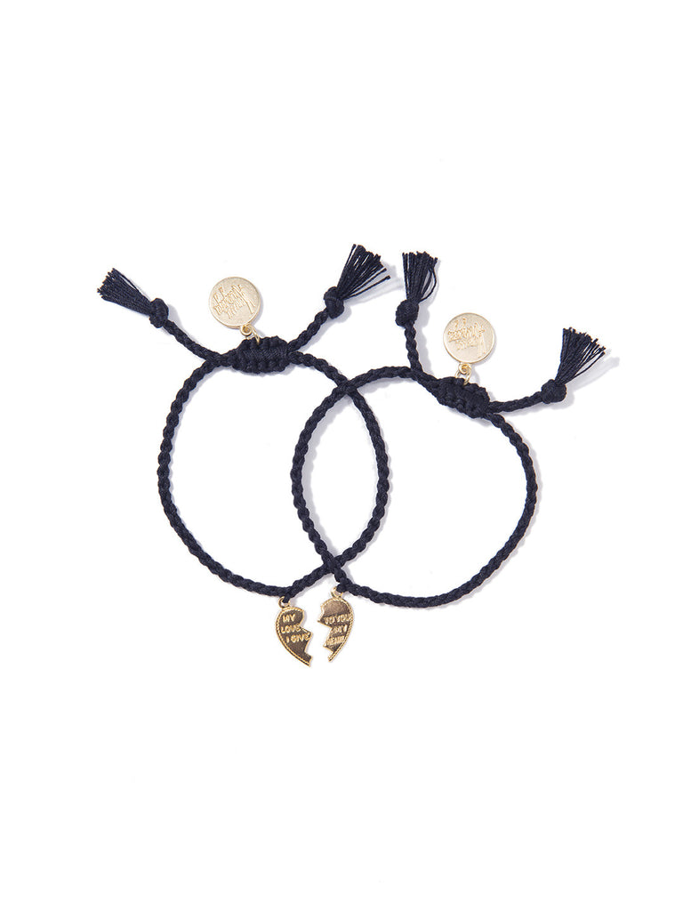 MADE FOR EACH OTHER BRACELET SET (MIDNIGHT BLUE) BRACELET - Venessa Arizaga