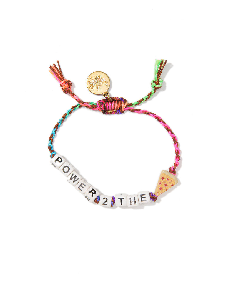 POWER 2 THE PIZZA BRACELET - Venessa Arizaga