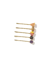 SNACK ATTACK BOBBY PIN SET - Venessa Arizaga