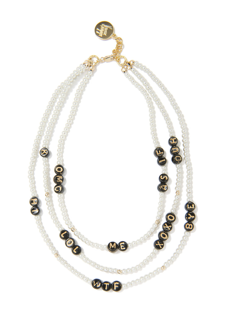 SAY WHAT? NECKLACE - Venessa Arizaga