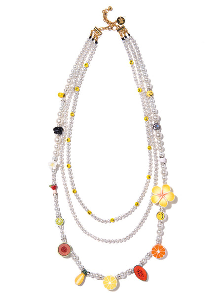CUTIE FRUITY PEARL NECKLACE
