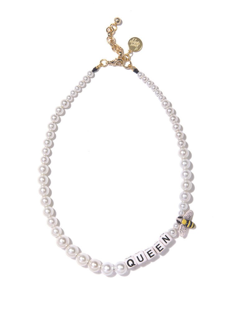 QUEEN BEE PEARL NECKLACE