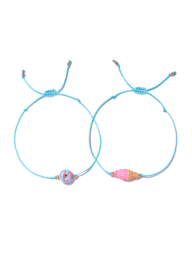 THE SWEETEST THING BRACELET SET BRACELET - Venessa Arizaga
