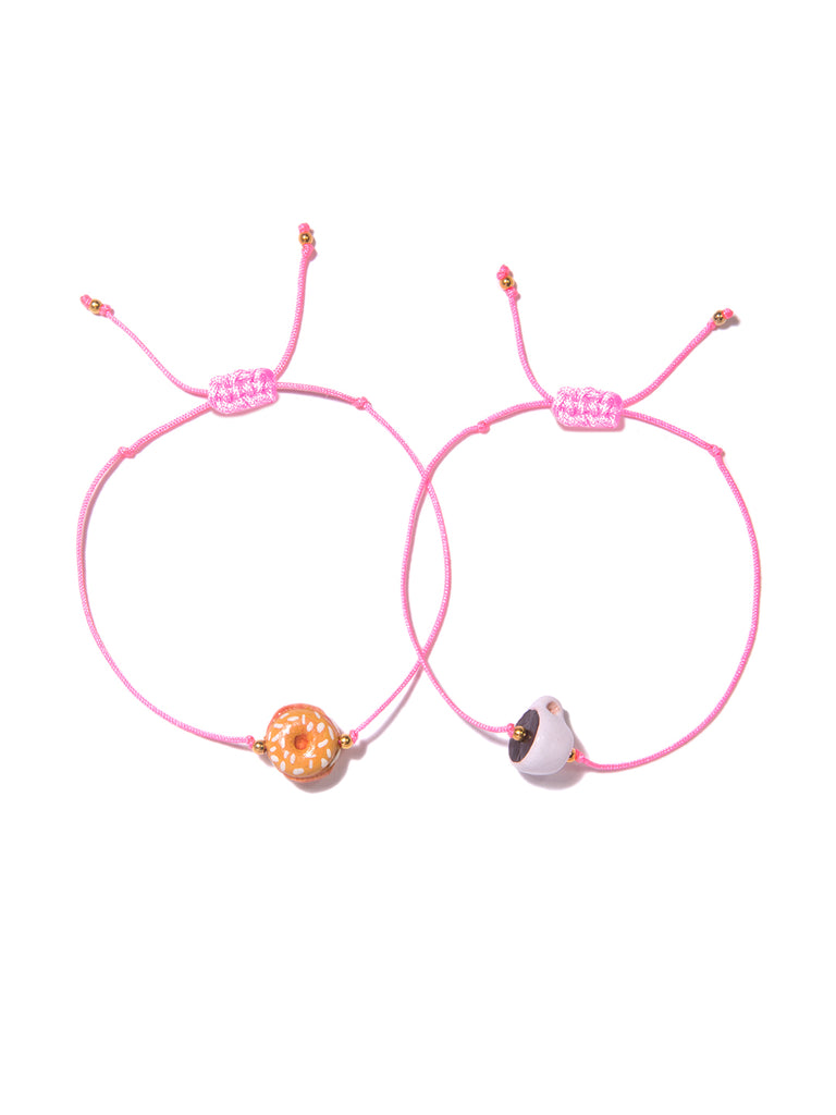 BREAKFAST TIME BRACELET SET - Venessa Arizaga