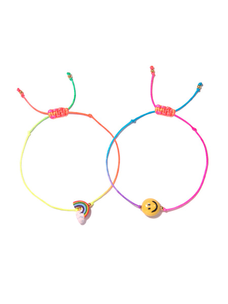 RAINBOW SMILE BRACELET SET