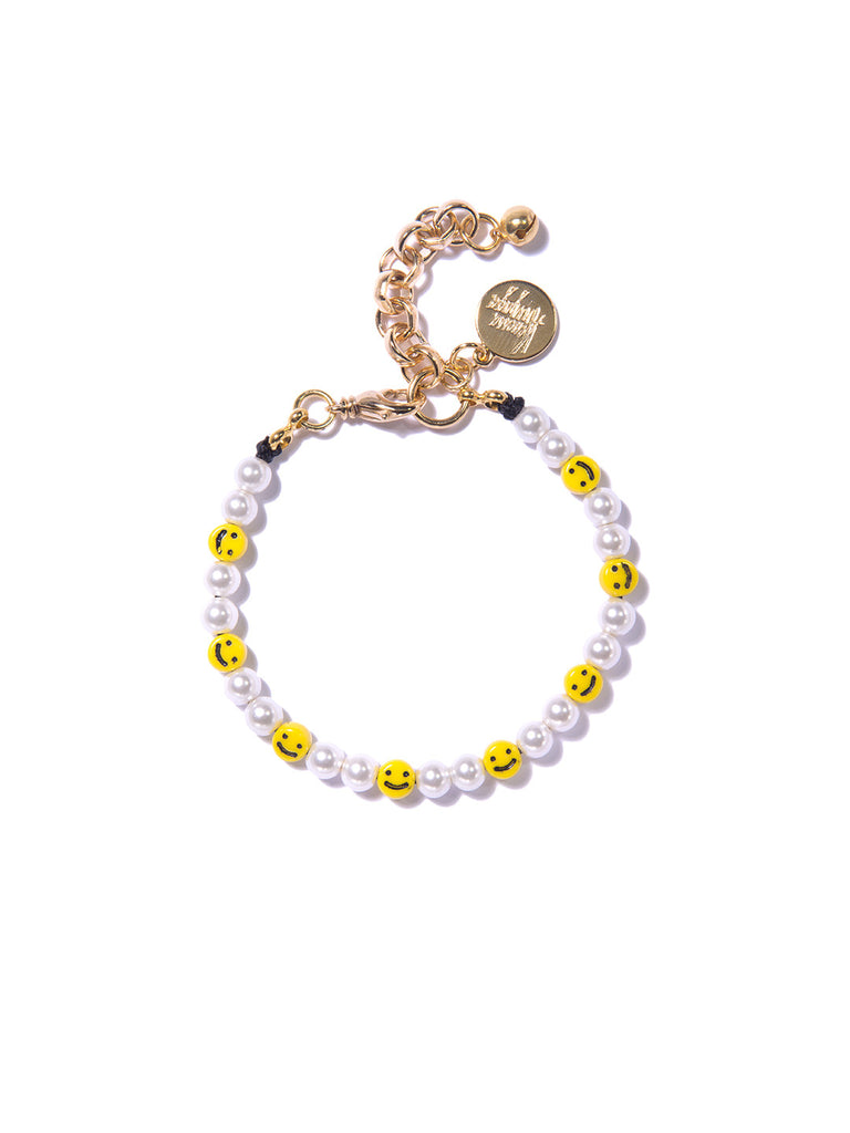 ALL SMILES ON ME PEARL BRACELET BRACELET - Venessa Arizaga