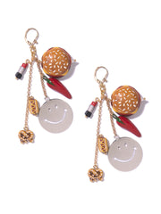 HOT SNACKS EARRINGS - Venessa Arizaga