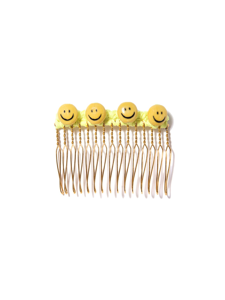 I LOVE YOUR SMILE HAIR COMB - Venessa Arizaga