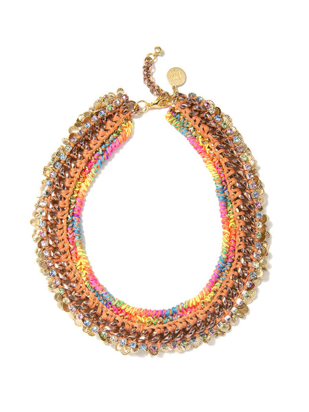 MARINA NECKLACE (RAINBOW SUNSET)