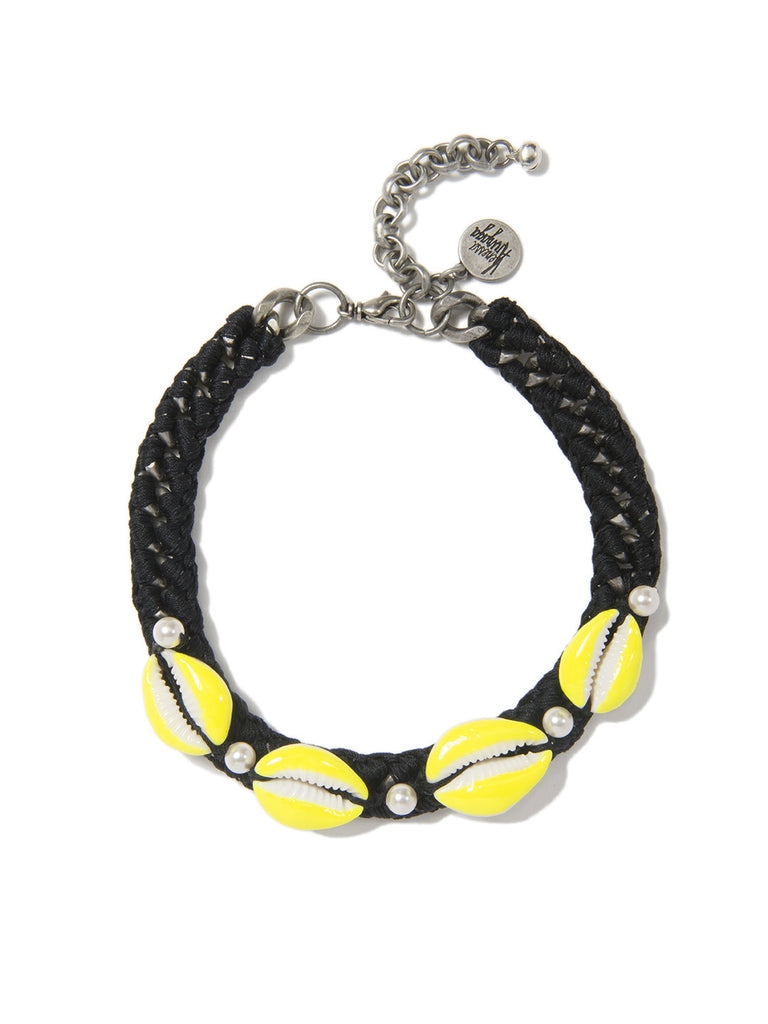 SHELL WE DANCE? CHOKER (BLACK) - Venessa Arizaga