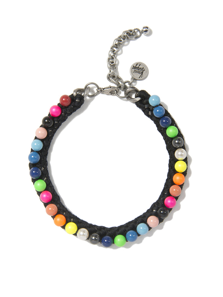 PRETTY PEARL CHOKER (ELECTRIC RAINBOW) - Venessa Arizaga