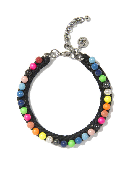 PRETTY PEARL CHOKER (ELECTRIC RAINBOW)