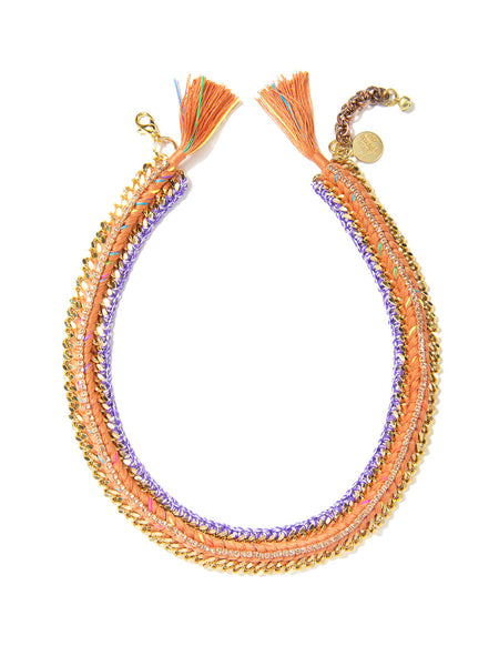 ARISTA NECKLACE (RAINBOW SUNSET)