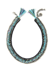 ARISTA NECKLACE (OCEAN BLUE) NECKLACE - Venessa Arizaga