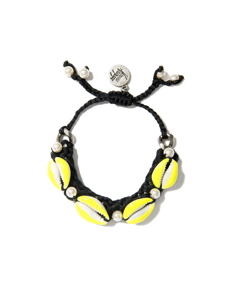 SHELL WE DANCE? BRACELET (BLACK)