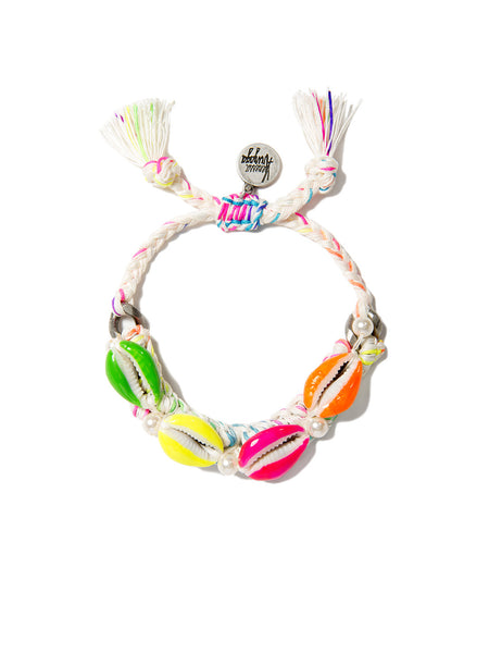 SHELL WE DANCE? BRACELET (RAINBOW CLOUD)