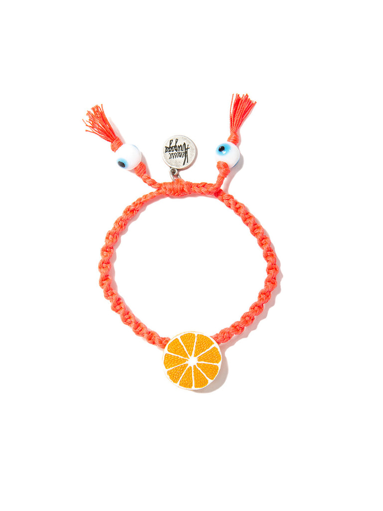 ORANGE SLICE BRACELET - Venessa Arizaga
